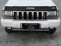 Дефлектор капота (мухобойка) Jeep Grand Cherokee (ZJ) с 1993–1998 г.в.