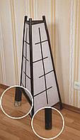 Светильник напольный, бамбук и бумага, 1000х500х500мм