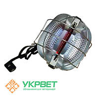 Плафон-адаптер Ryu-Arm для инфракрасной пальчиковой лампы 175 W с переключателем мощности для обогрева свиней