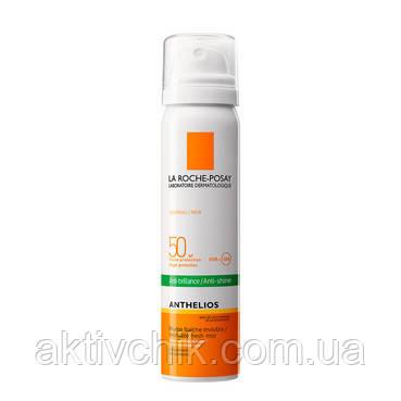 Ультралегкий матирующий солнцезащитный спрей для лица  La Roche Posay Anthelios Spray SPF50+