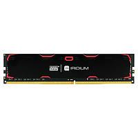 Память GOODRAM 8 GB DDR4 2133 MHz Iridium Black (IR-2133D464L15S/8G)