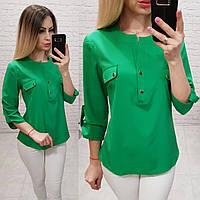 b589791e5c3 Блуза   блузка арт. 829 зеленый   зеленая