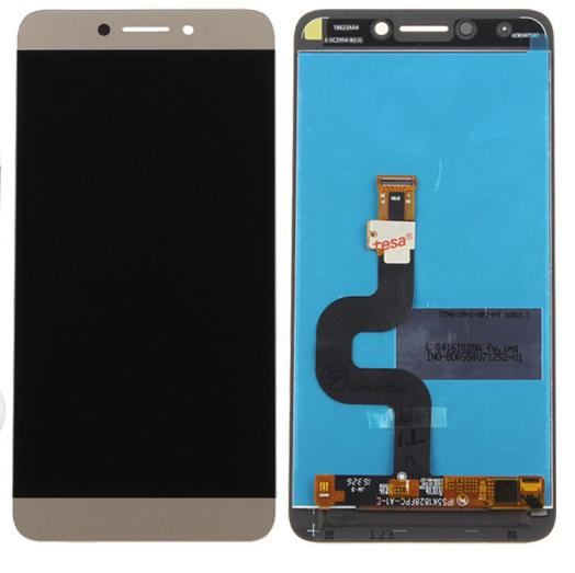 Дисплей (екран) для LeTV LeEco X625 Le 2 Pro з сенсором (тачскріном) золотистий Оригінал
