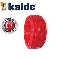 Труба для теплого пола Кalde (Турция) с кислородным барьером PEX-A 16х2 мм, крас.