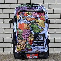 Рюкзак Supreme x The North Face backpack map,Реплика, фото 1