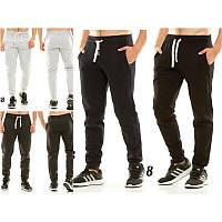 Теплые мужские штаны на манжете 438