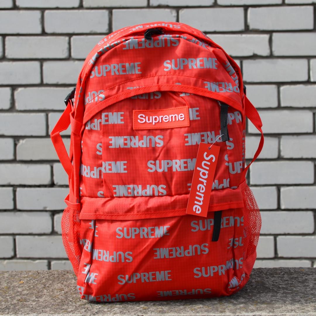 Рюкзак Supreme UCUT Red,Реплика
