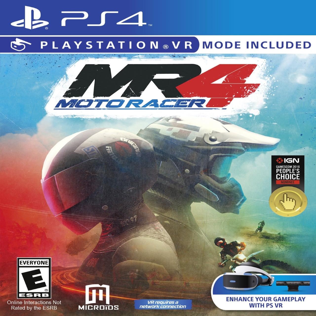 Moto Racer 4 VR ENG PS4