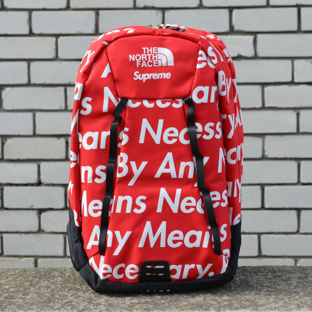 Рюкзак Supreme x The North Face By Any Means Red,Реплика
