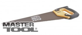 MasterTool  Ножовка столярная 500 мм, 7TPI MAX CUT, каленый зуб, 3-D заточка, тефлоновое покрытие, Арт.: 14-2350