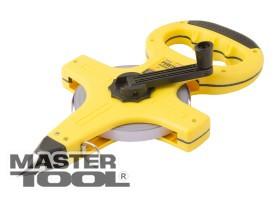 MasterTool  Рулетка геодезическая 50 м*13 мм, полотно из стали, Арт.: 67-5013