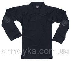 Боевая рубаха с защитой локтей USA черная