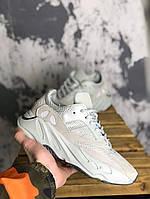 Мужские кроссовки Adidas Yeezy 700 salt, Реплика, фото 1