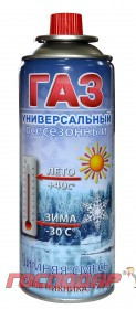 """Господар  Газ бутан """"Зимняя смесь"""" 220 г, Арт.: 44-5001"""