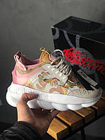 Жіночі кросівки Versace Chain Reaction 2 Chainz , Репліка, фото 1