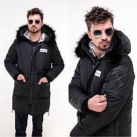 Зимнее пальто мужское мод.1180, фото 1