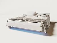 Ліжко двоспальне 1,6 Б'янко