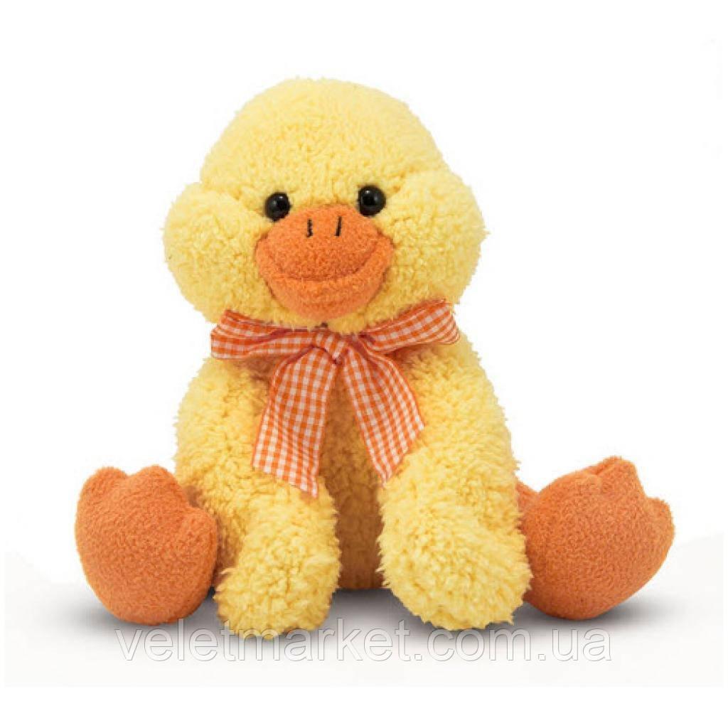 Мягкая игрушка Melissa&Doug Веселый утенок, 23 см (MD7406)