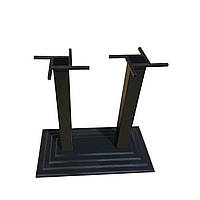 Чугунная опора для стола Ле Ман Дабл