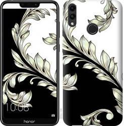 """Чехол на Huawei Y7 2019 White and black 1 """"2805c-1638-328"""""""