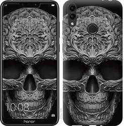 """Чехол на Huawei Y7 2019 skull-ornament """"4101c-1638-328"""""""