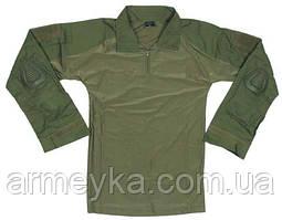 Боевая рубаха с защитой локтей USA олива