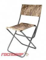 Господар  Складной стульчик изготовлен из металлической трубы и брезента., Арт.: 92-0752