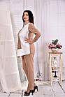 Світла ніжна блузка з костюмки 0565-3 (на фото з брюками 030-3), фото 2