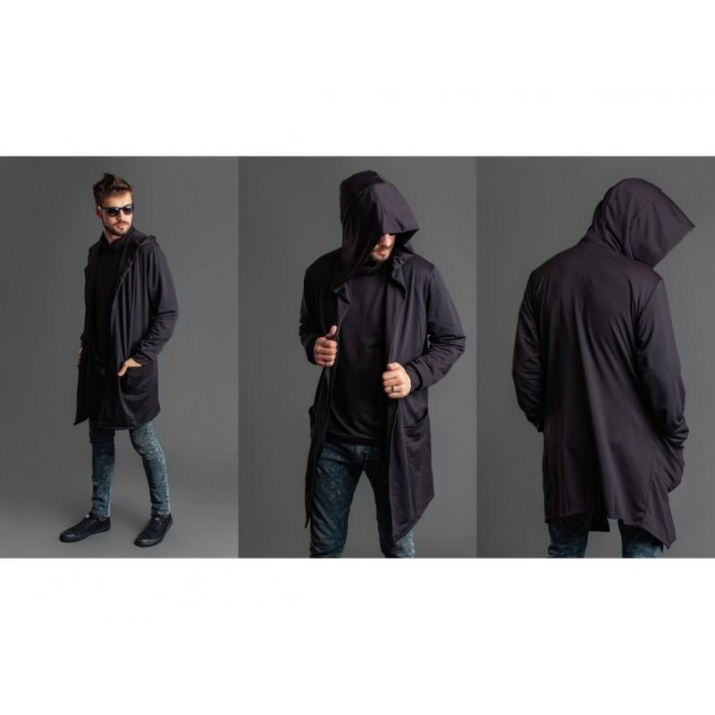 Кофта мужская с капюшоном мод.1122
