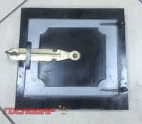 Господар  Дверка топочная 255*250 мм черн. мет., Арт.: 92-0364