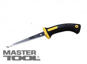 MasterTool  Ножовка для гипсокартонных плит 180 мм, 9TPI, каленый зуб, 2-D заточка, Арт.: 14-2716
