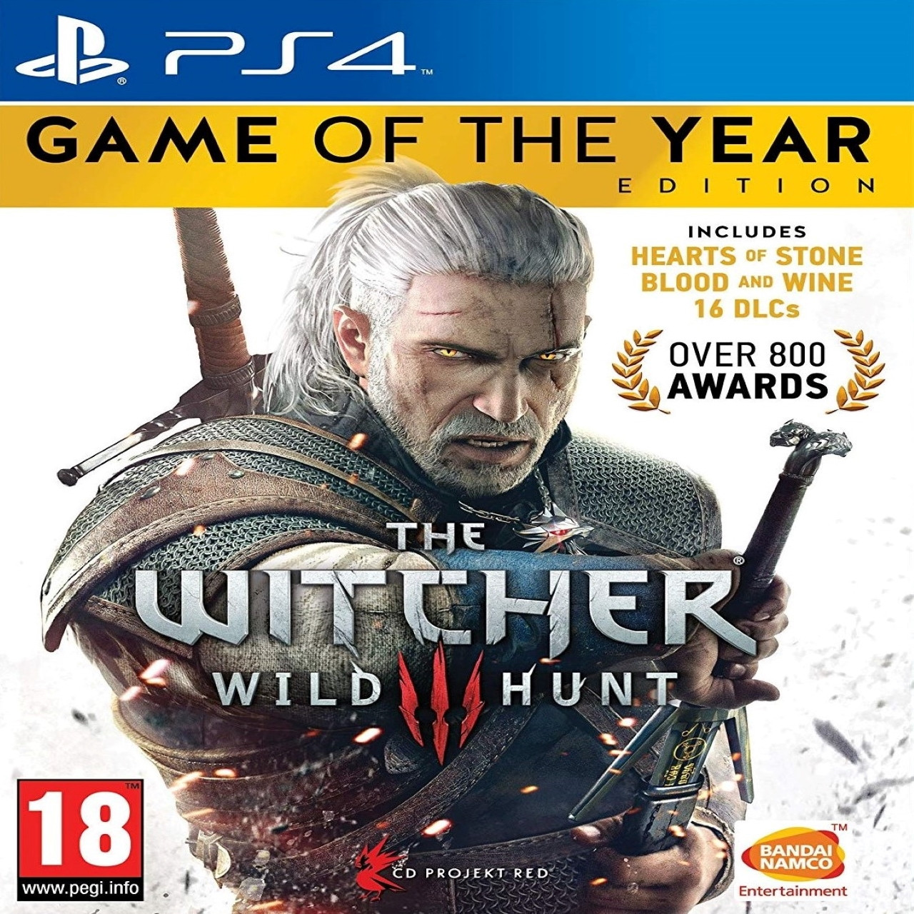 The Witcher 3: Wild Hunt game of the year edition SUB PS4 (NEW)