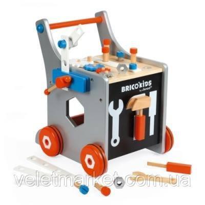 Игровой набор Janod Мастерская на колёсах (J06478)