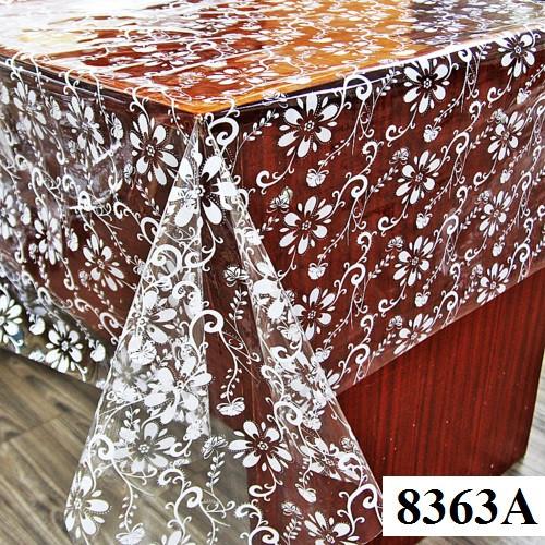Клеенка (8363A) силиконовая, без основы, рулон. Китай. 1,37м/30м