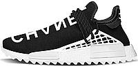 Кросівки Adidas x Pharrell Williams Human Race NMD black/white.