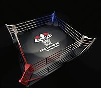 Боксерский ринг напольный, профессиональный 4х4 метра