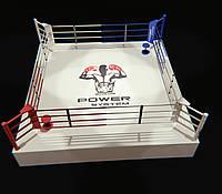 Боксерский ринг на помосте (0,6 м) профессиональный 6Х6 метра, ринг для бокса