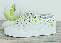 Кожаные  женские  кроссовки арт 4503 б размеры 39,40, фото 1