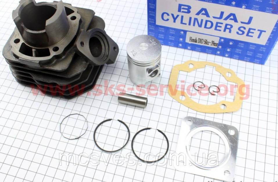 Цилиндр к-кт (цпг) Honda DIO AF27 50cc-39мм (палец 12мм)