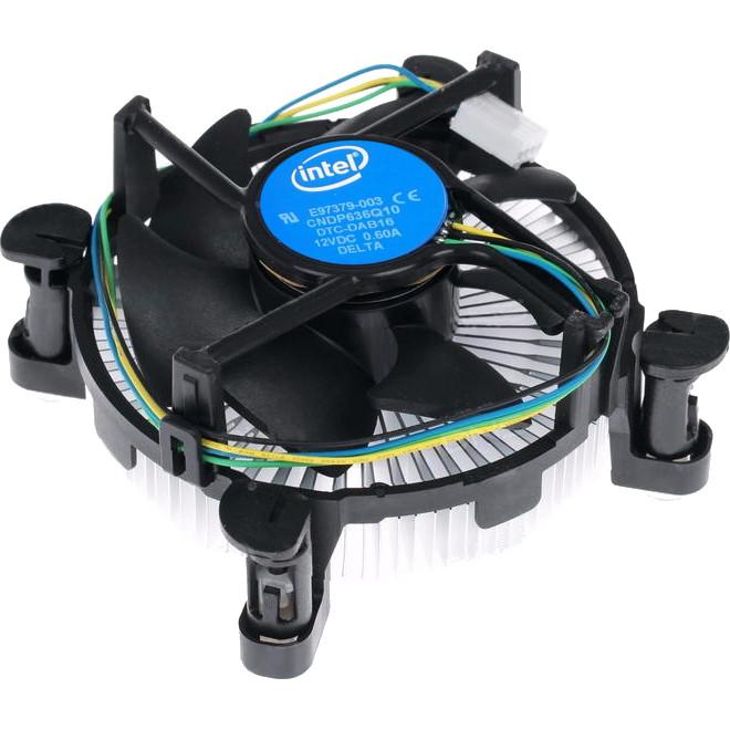 Вентилятор, кулер, система охлаждения CPU Intel Original, 4-pin, LGA 1150/1151/1155/1156