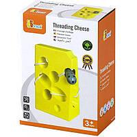 Развивающая игрушка Viga Toys Сыр (56281)