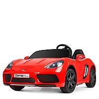 Детский двухместный электромобиль Porsche M 4055ALS-3 Гарантия качества Быстрая доставка, фото 1