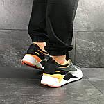 Чоловічі кросівки Puma RS Running System (сіро-чорні), фото 4