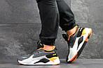 Чоловічі кросівки Puma RS Running System (сіро-чорні), фото 5