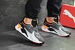 Чоловічі кросівки Puma RS Running System (сіро-чорні), фото 6