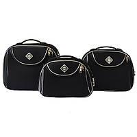 Сумка кейс саквояж 3в1 Bonro Style черный