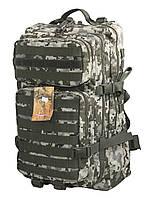 Тактический, штурмовой крепкий рюкзак 38 литров Украинский пиксель. Армия,туризм,рыбалка,спорт,отдых.
