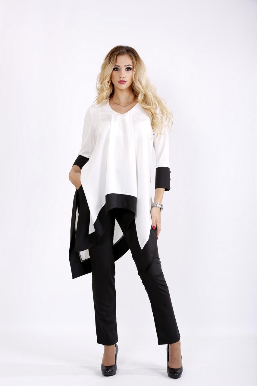 Чорно-білий костюм   0937-3