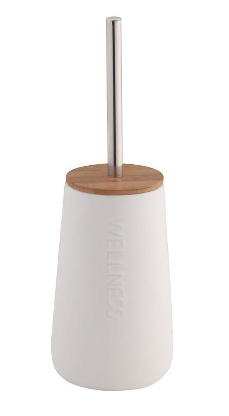 Щетка для WC Wellness доломит / бамбук 12х20 см