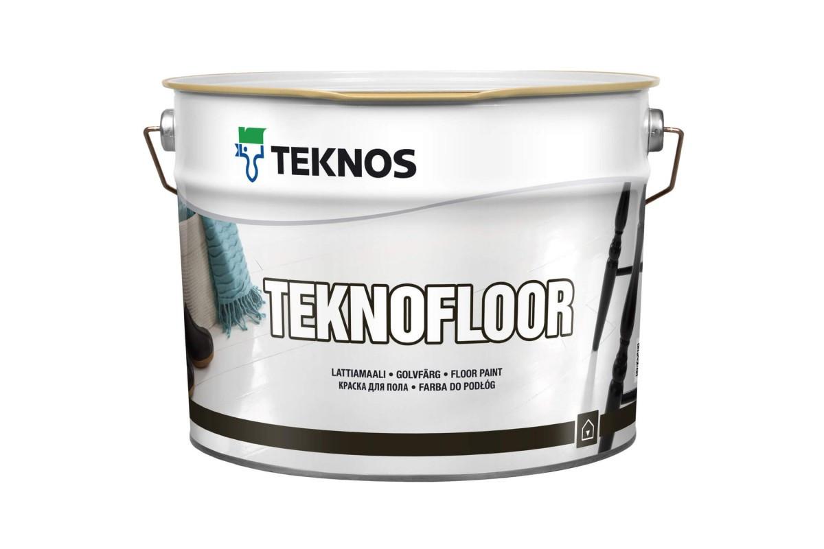 Фарба для підлоги Teknos Teknofloor, Білий, 2.7л